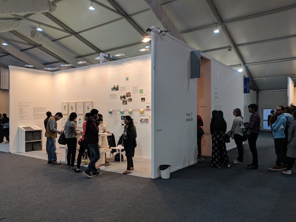 PROJECTS AT THE INDIA ART FAIR