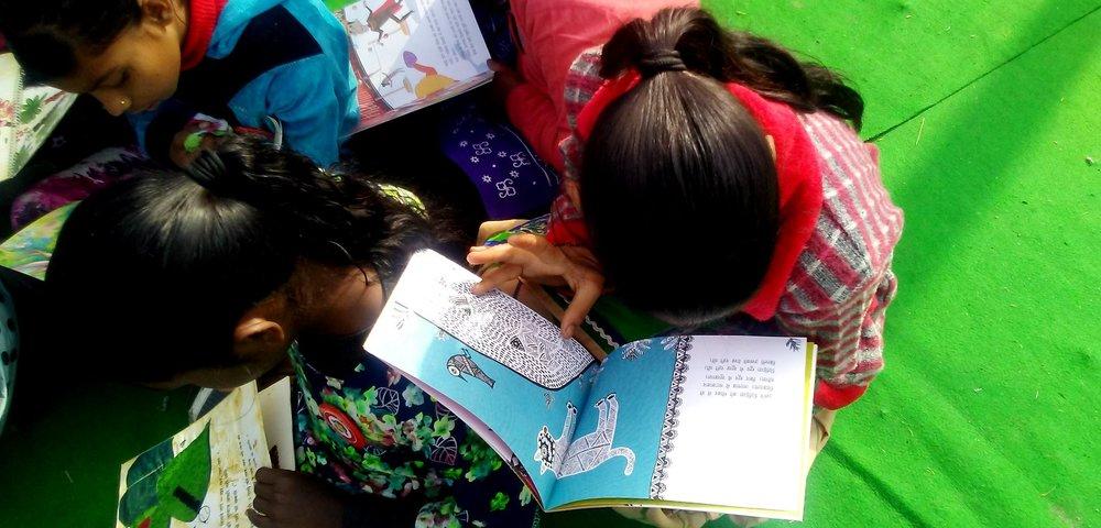 FICA LIBRARY AT BETI SHAKTI ABHIYAN MELA | DAY-LONG READING AND CRAFTS SESSION