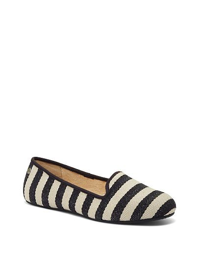 Shearling-lined UGG ® Australia Striped Loafer (Available Online at Victoria's Secret)