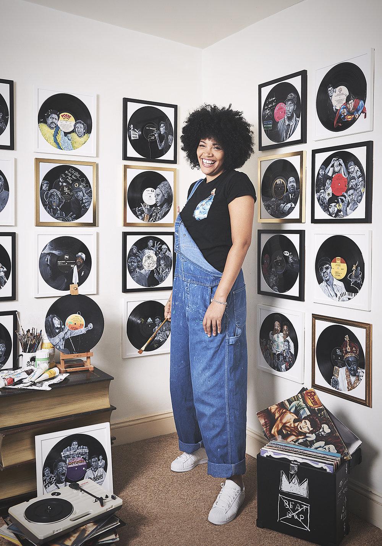 Rachael Vinyl Artist