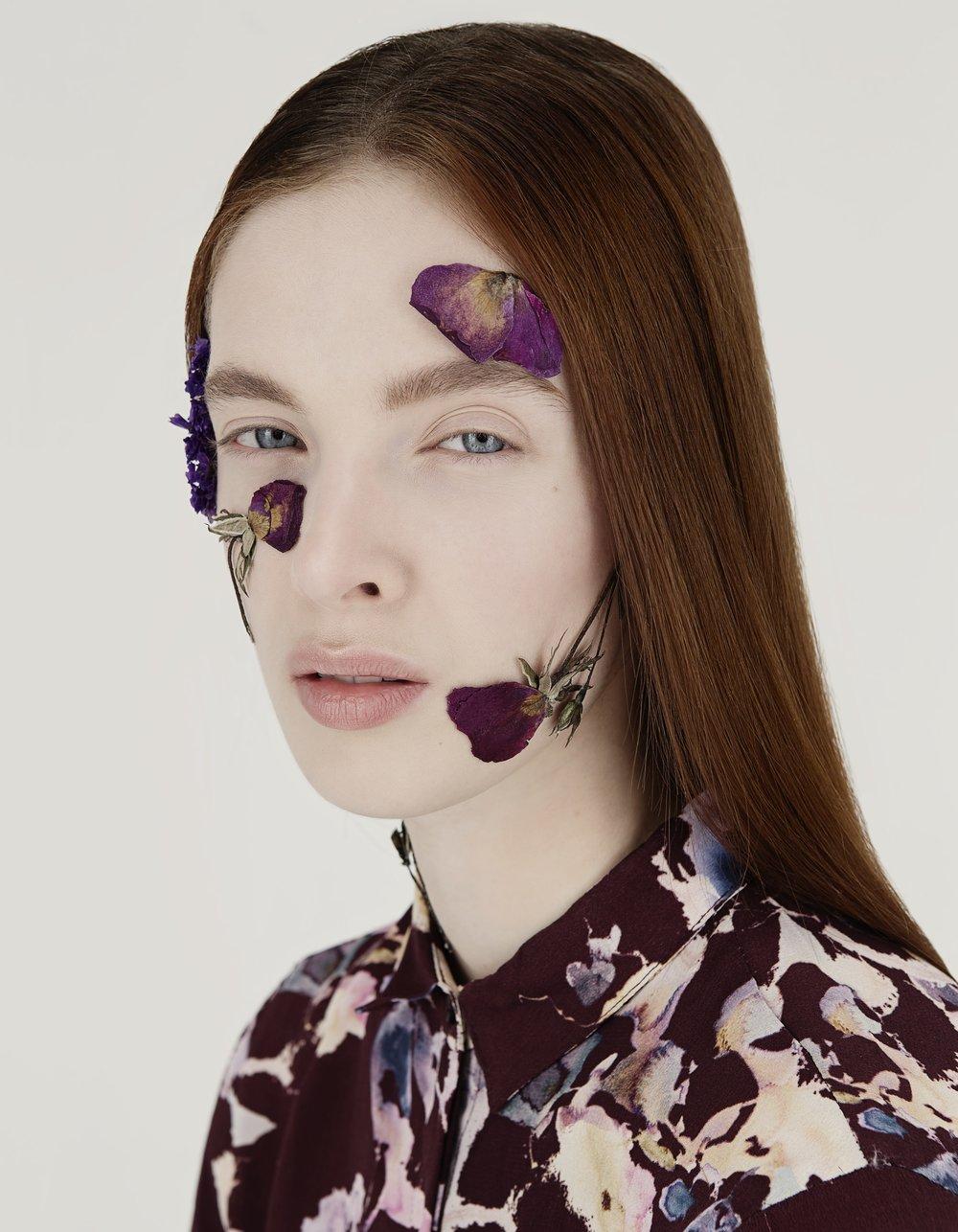 PHOTOGRAPHY Denise Boomkens @ Sticky Stuff | MUAH Alexandra Leijs | MODEL Gesine @ Micha Models