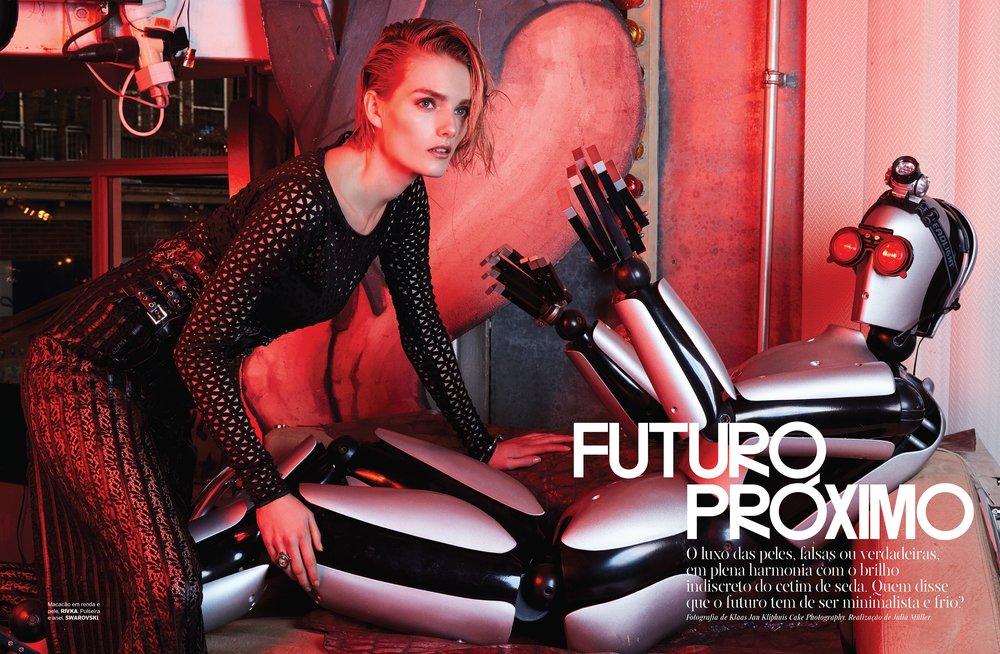VOGUE pt| PHOTOGRAPHY | Klaas Jan Kliphuis @ Cake Photography | MAKE-UP | Alexandra Leijs | HAIR | Jan Fuite @ House of Orange | MODEL Elisabeth @ Paparazzi Models