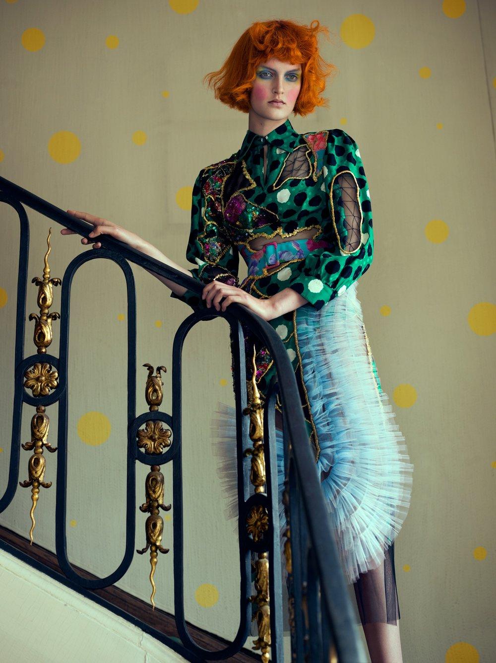 GLAMOUR ice| PHOTOGRAPHY Domen/ Van de Velde | MUAH Magdalena Loza @ House of Orange | MODEL Anouk @ Elite Models