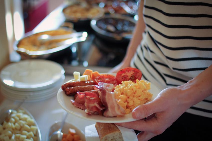 Yummm... breakfast.