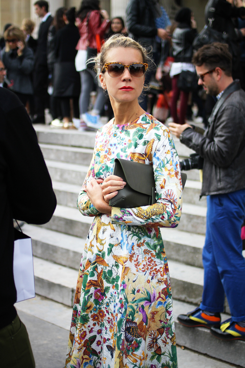 Natalie Joos at Paris Fashion Week