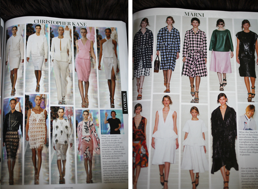 Vogue Collections shows