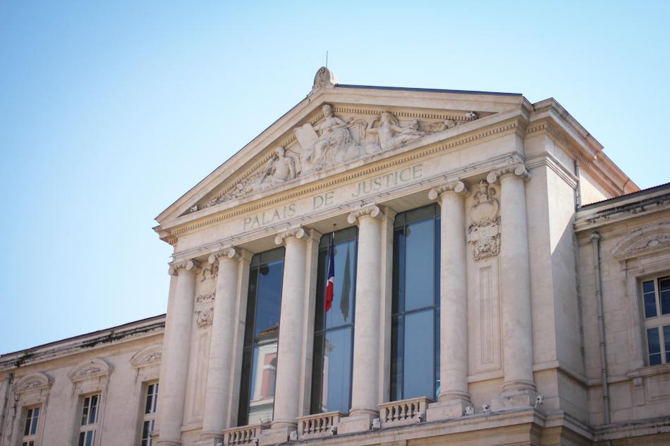 Nice, Palais de Justice, Architecture, France