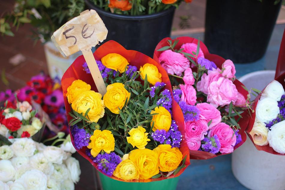 Nice, flowers, flower market