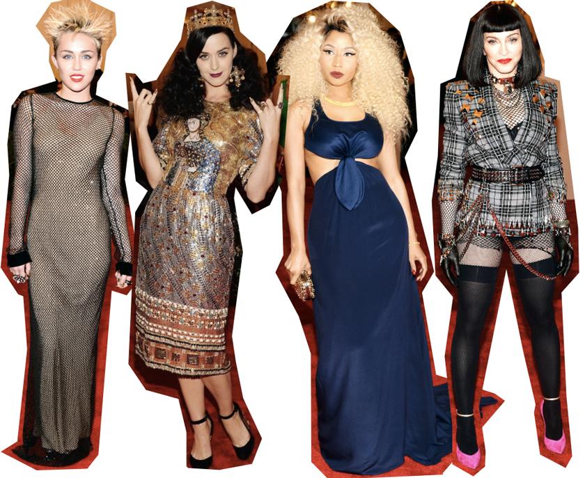 Met Bal 2013, Miley Cyrus, Katy Perry, Nicki Minaj, Madonna, Worst dressed