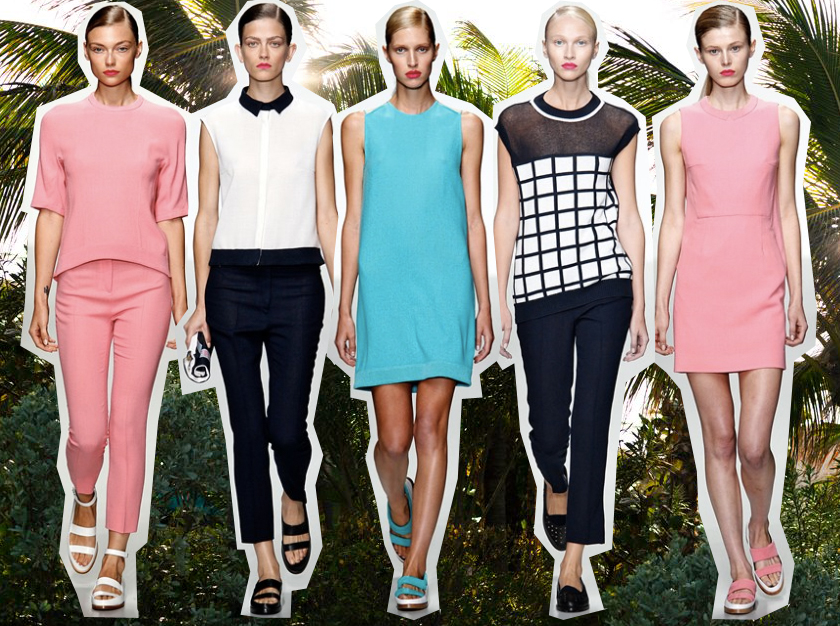 J JS Lee Spring 2014 collection
