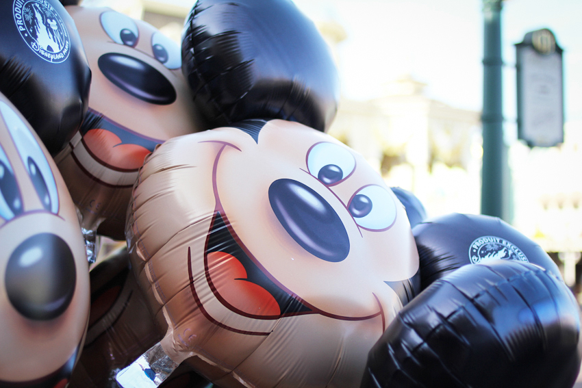 Disneyland Paris Mickey Mouse balloon