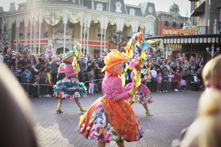 Disneyland Paris parade