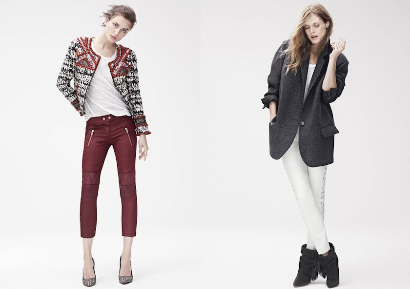 Isabel Marant x H&M Look book
