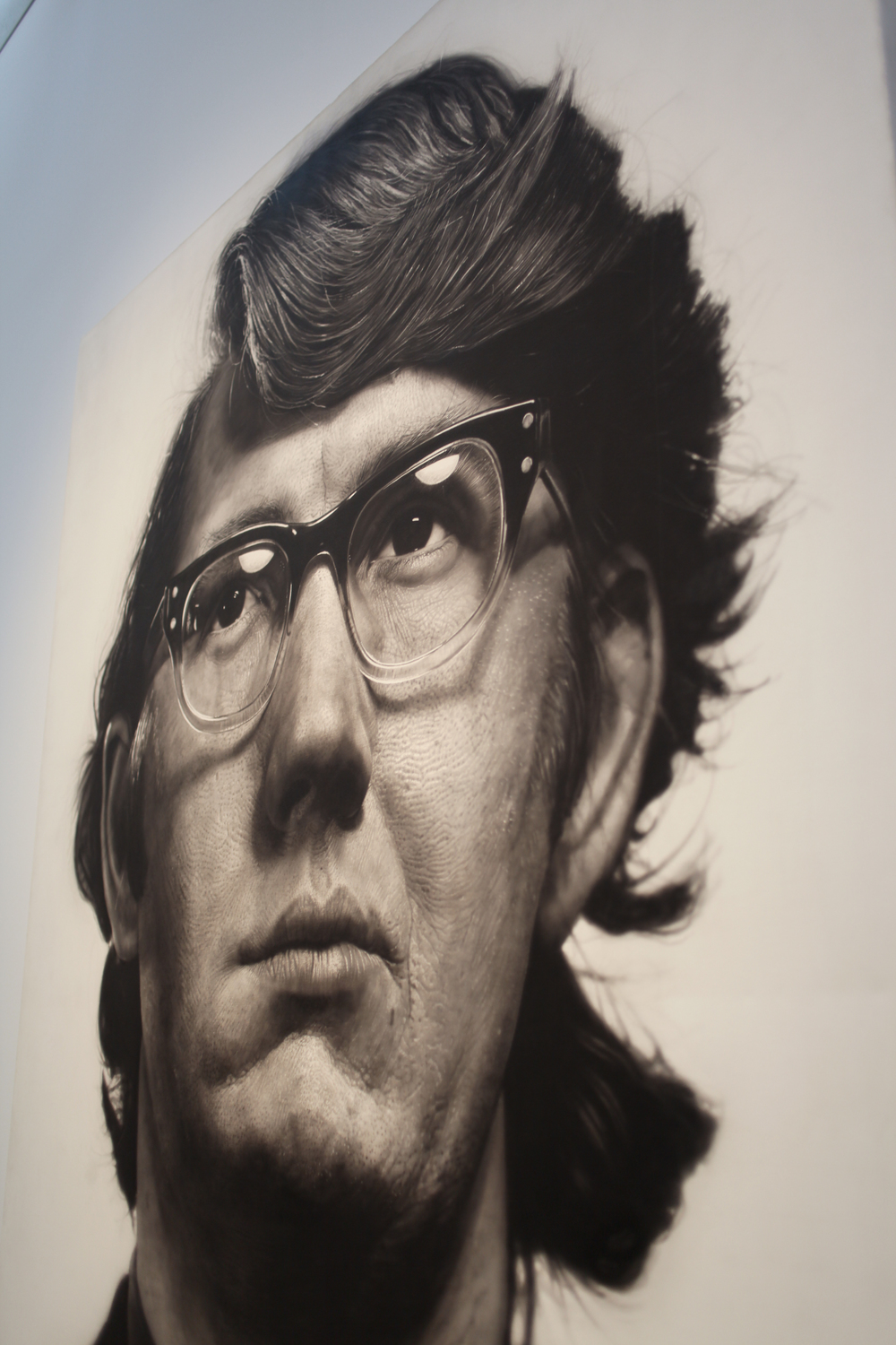Chuck Close - Keith - acrylic on canvas