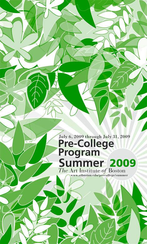 AIB 2009 Pre-College Poster, Design by:Michelle Vaira'07