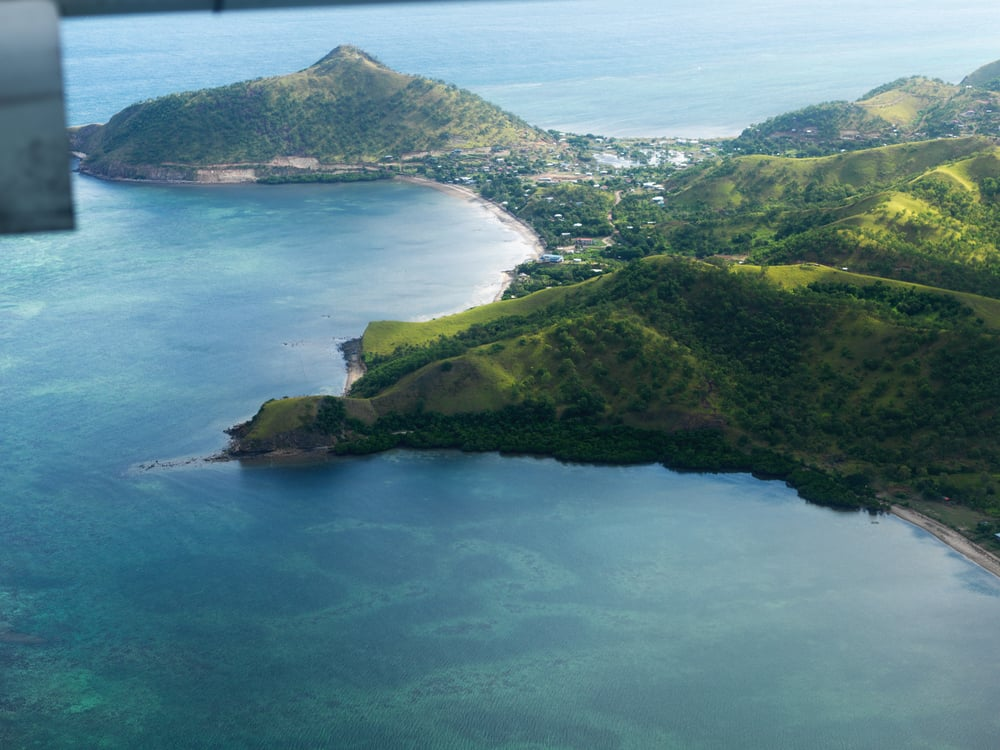 Taurama from the air