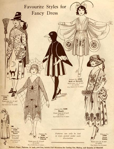The History of Halloween Costumes — Playful Promises Blog