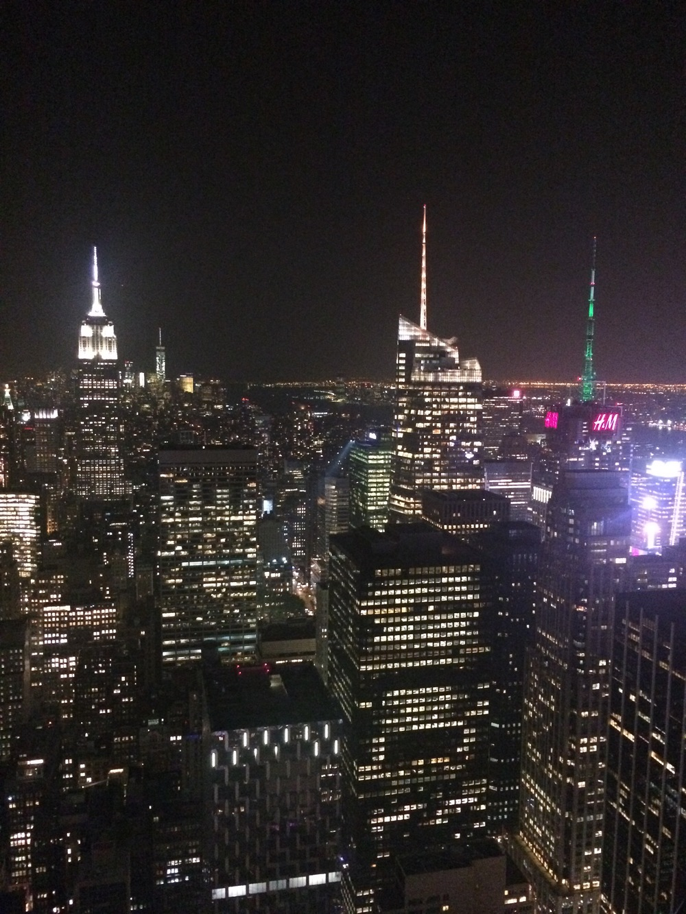 View from the Top of the Rock (It was my first time in NY, I did ALL the touristy things!)