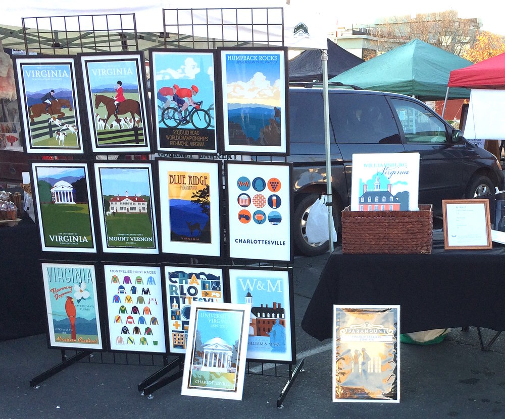 Among the interesting folks I met today were a former gallery owner who pronpltly sent me an email awith lots of their contacts who deal in posters; and a smart as a whip woman whose name of course escapes me. She had a small trove of suggestions that I intend to follow up on. Ever so grateful!