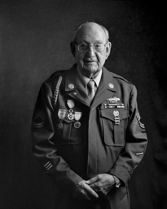 Bill Brunger, WWII vet.