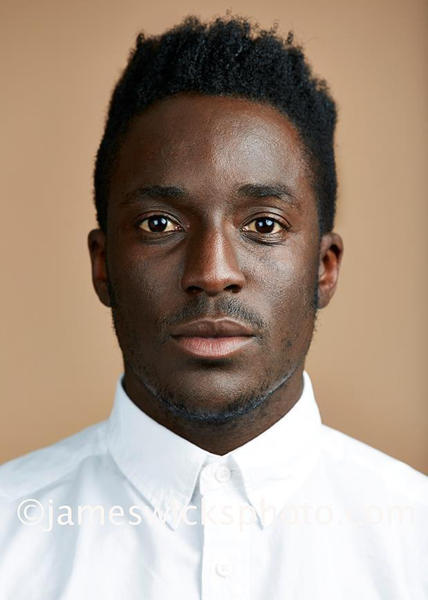 Andy Akinwolere, also sometimes known as Kele from Bloc Party to the general public...