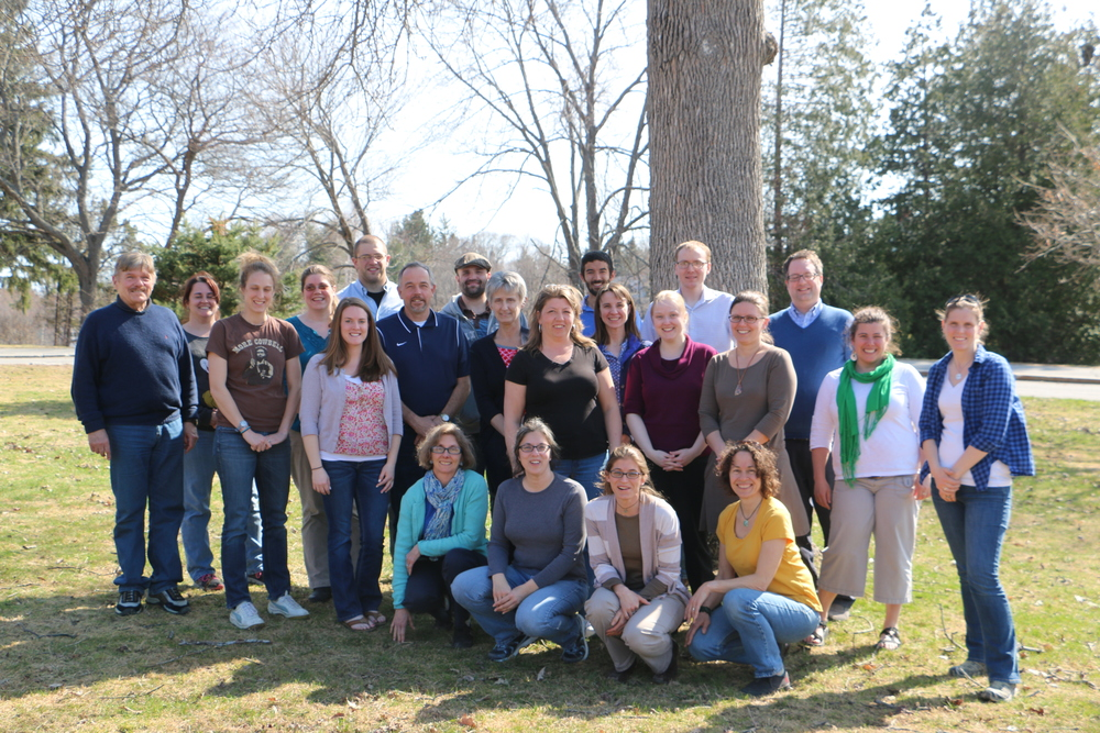 Teachers with the Spring 2015 UCOP program after an April week of COPUS-ing!