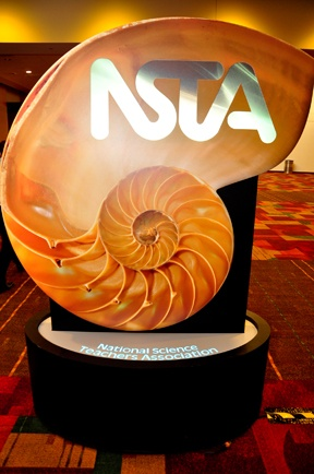 NSTA nautilus sign - it was amazing in person!