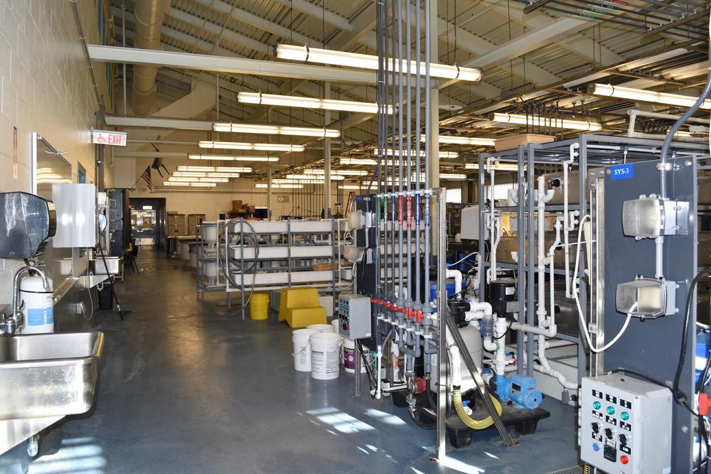 Aquaculture lab at AQUA