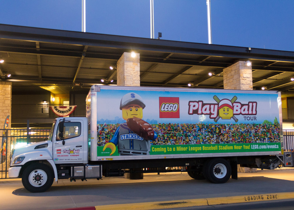 LEGO® PLAY BALL TOUR (2017)