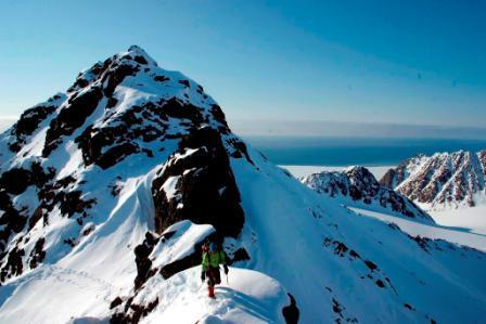 Nord-vest Spitsbergen. Foto: Anne Hormes.