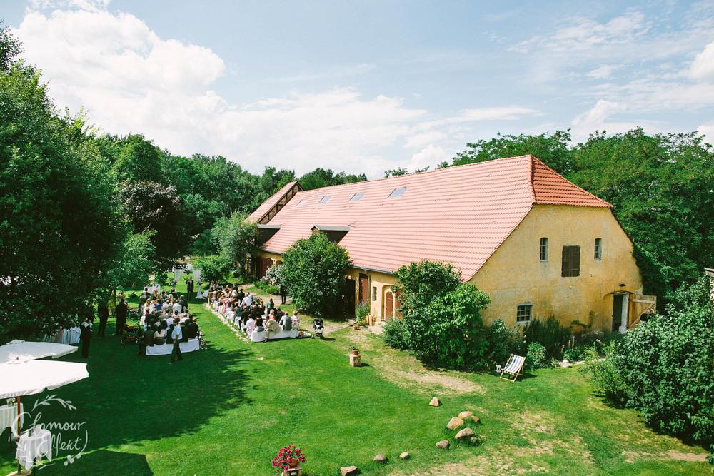 Freie Trauung auf Hochzeitslocation Gut Wendgräben