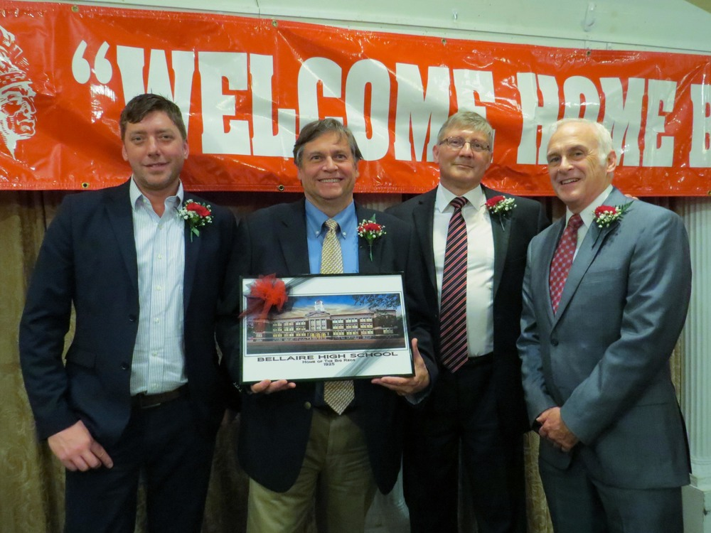 Pictured above left to right are, David doan '92ARTS, doug havelka '78 business, thomas tuttle '75 medical, and james cochran '72 civic