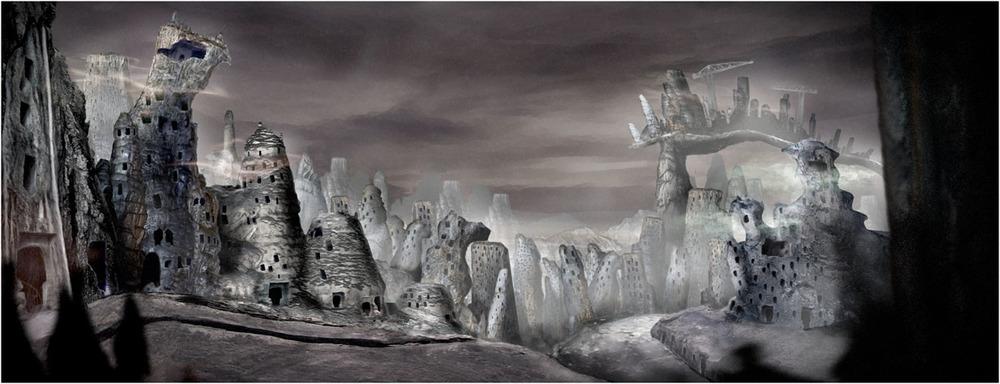 Domestos - Germ City - Concept Matte painting