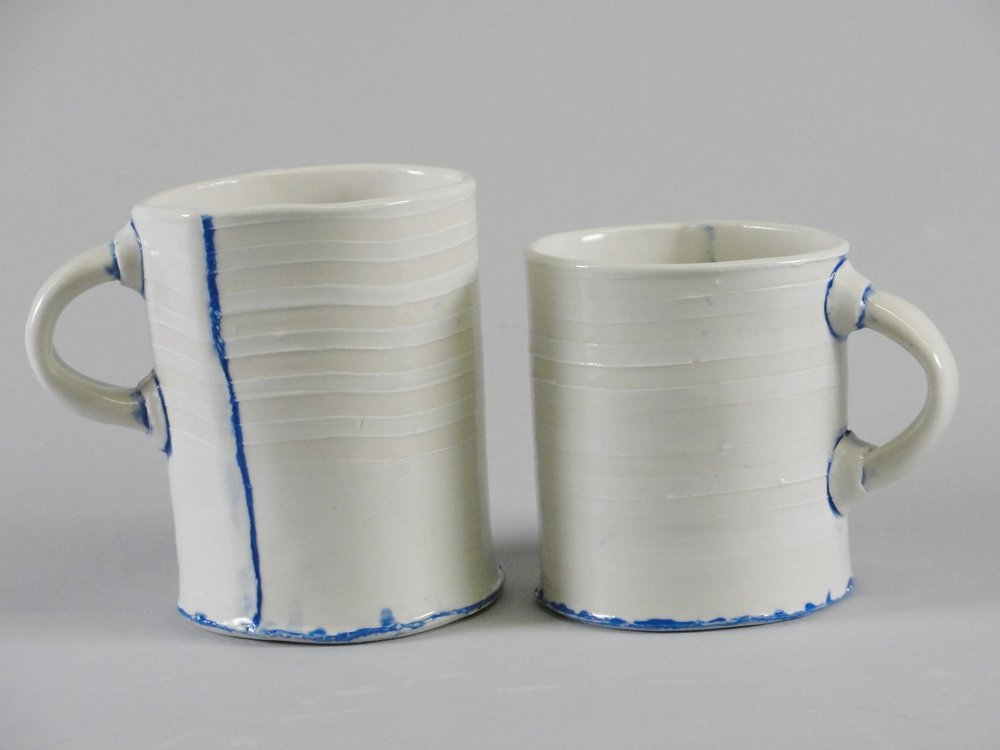 Pair of Cups - Blue