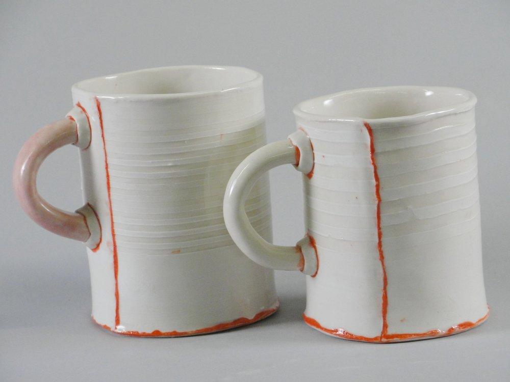 Pair of Cups - Orange