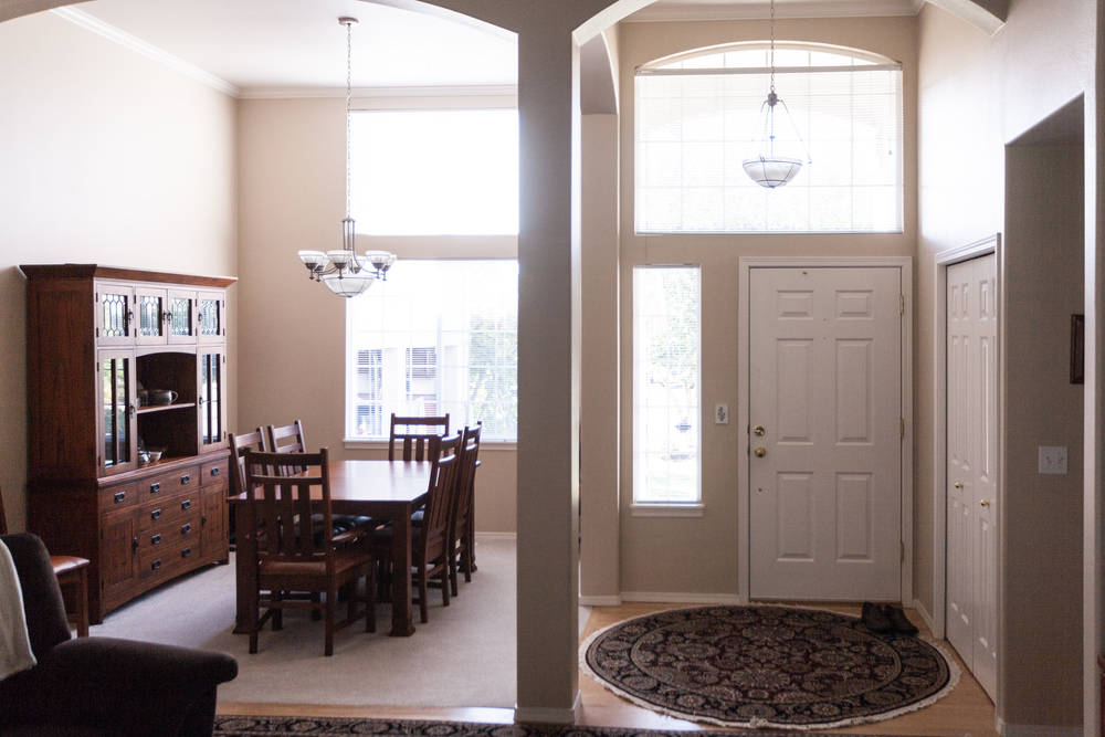 Formal Dining and Entry