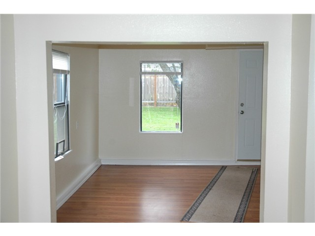 This is the lower unit. Three bedrooms in this unit. A basement unit but at ground level.