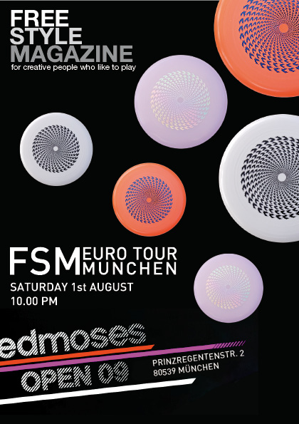 FSM Munchen Party flyer