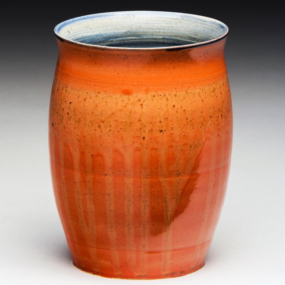 """""""Arsonist"""", Stoneware Vase, 11.5cm Tall x 9cm Diameter (4.5"""" x 3.5"""")"""