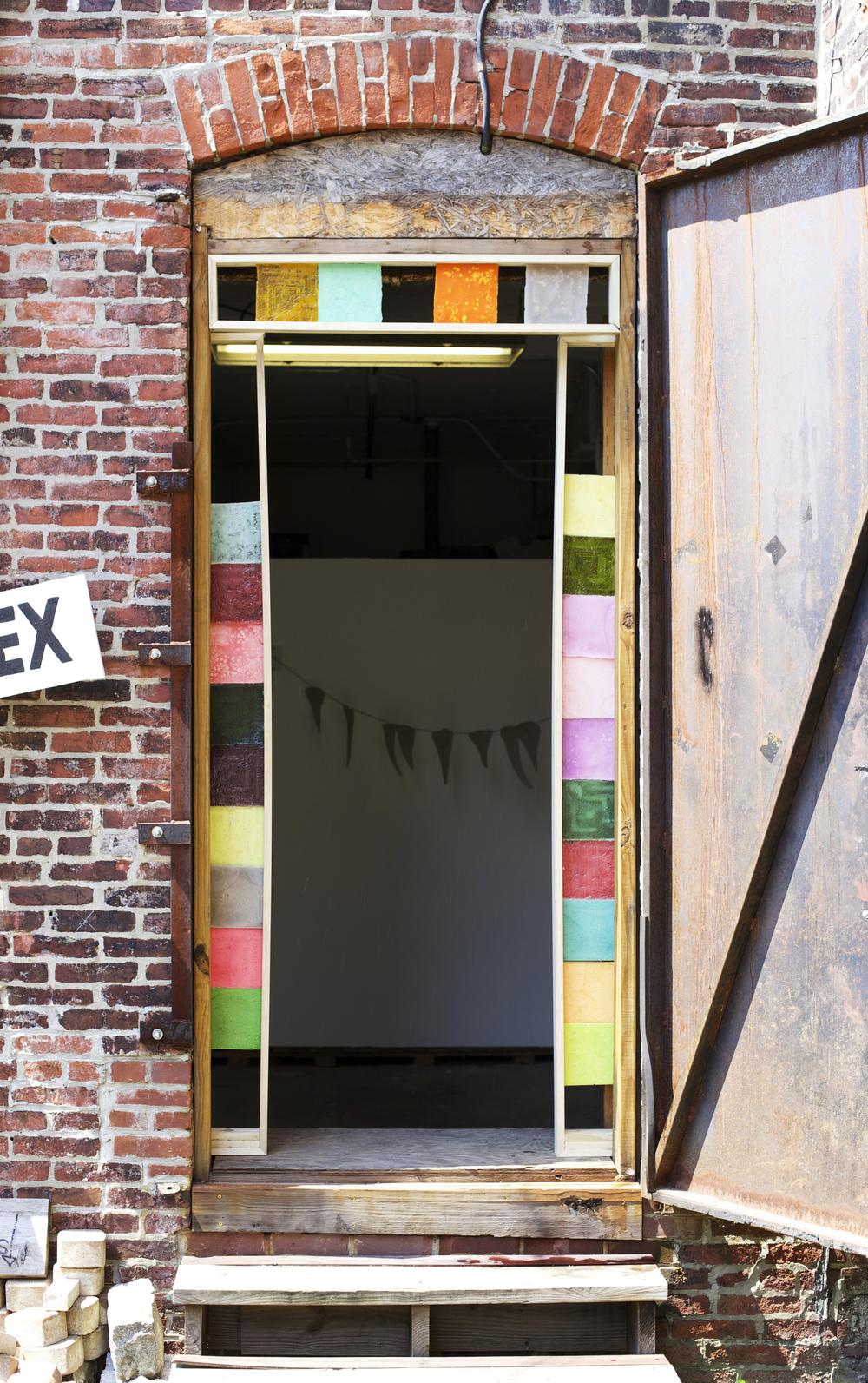 Exterior, Tiled Door