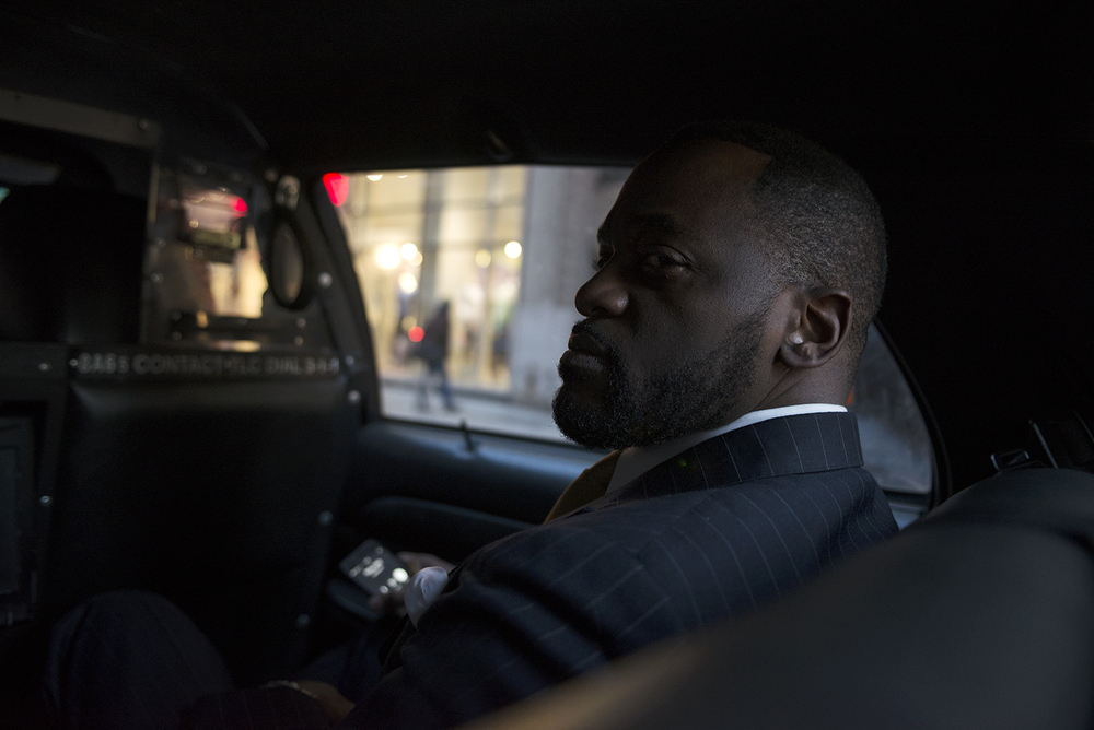 New York City, Taxi Portrait