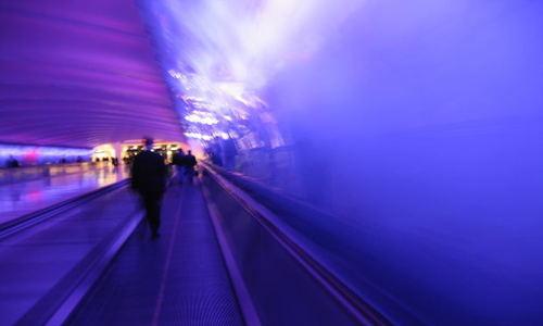 blur tunnel uncertainty