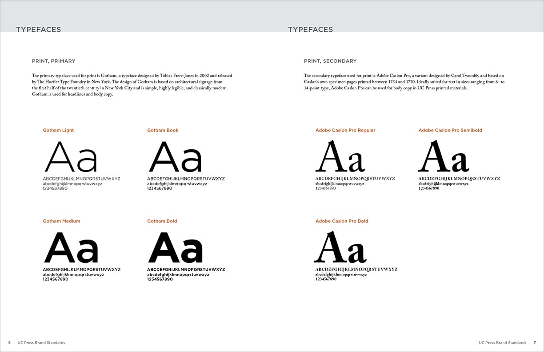 UC Press Brand Standards Guide — Kristin deNeeve