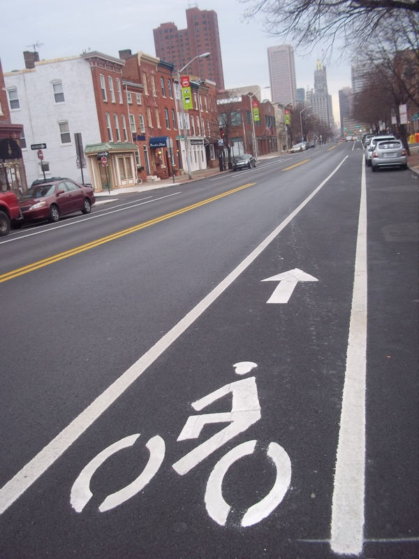 Light Street Bike Lane