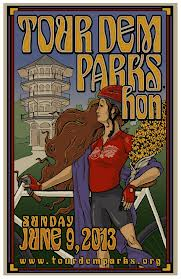 Tour Dem Parks Hon Poster