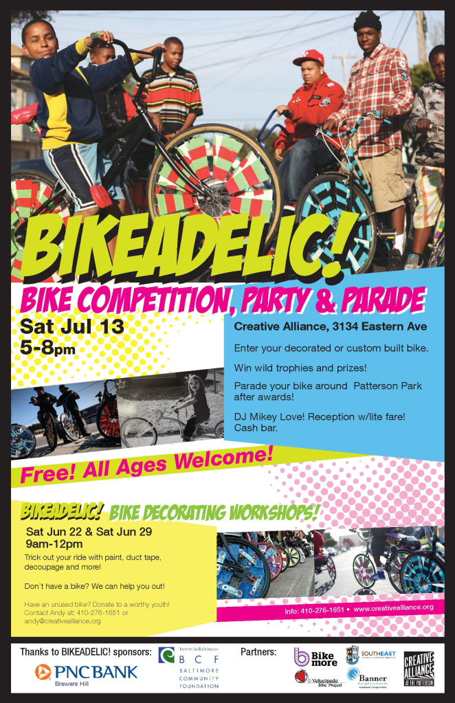 Bikeadelic Bike Competition Party and Parade