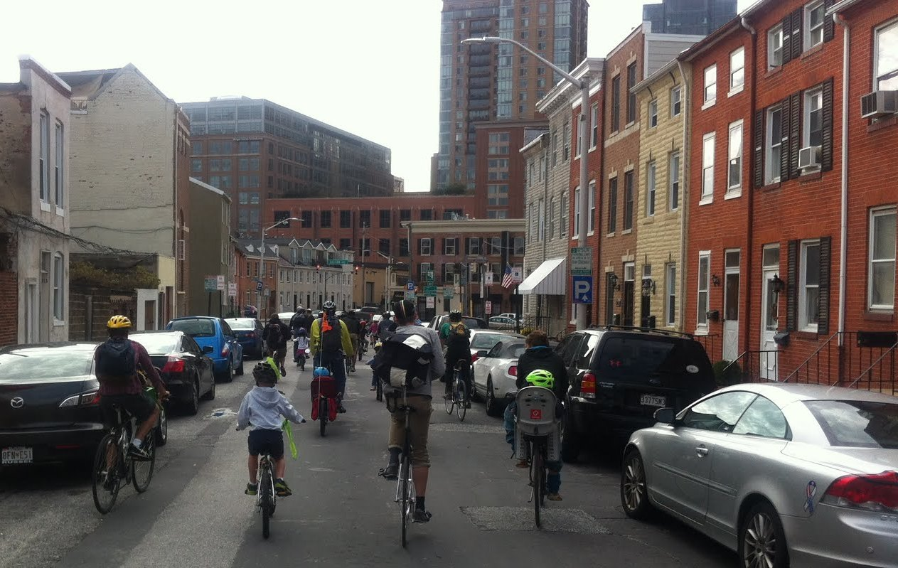 Baltimore Family Bike Party