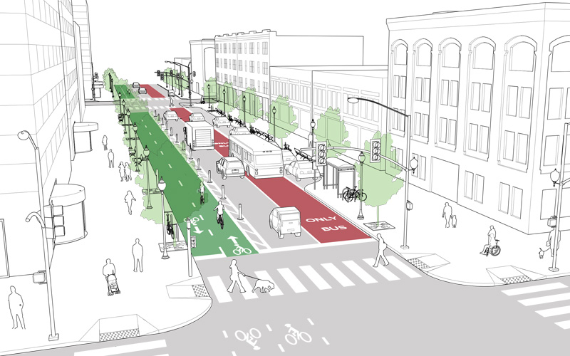 Directdot New Complete Streets Policy For Baltimore Bikemore