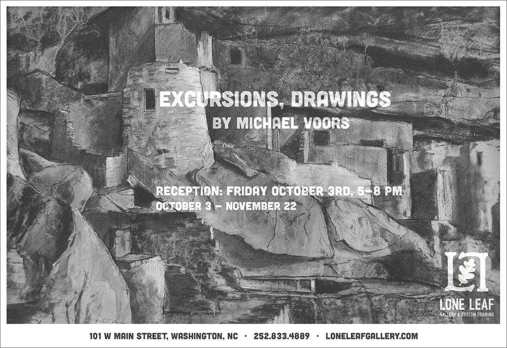 Lone Leaf Gallery & Custom Framing - \'Excursions, Drawings by ...
