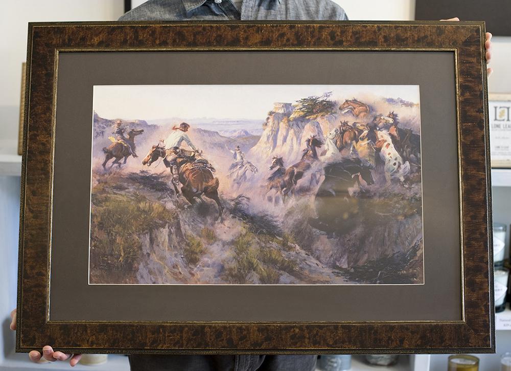 Lone Leaf Gallery & Custom Framing - Look What We Framed...